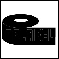BCR300W - Black Wax Ribbons - 300 Mtr. Length