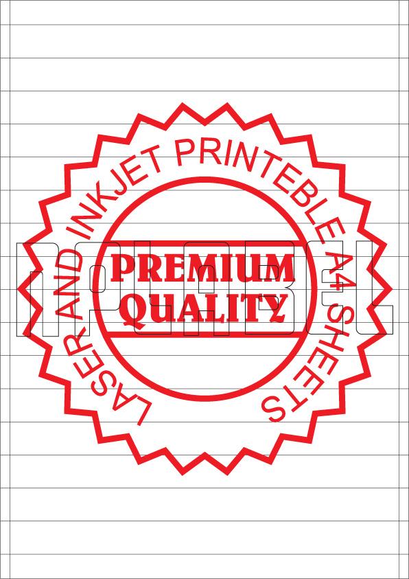 SC1016 Multipurpose A4 Label Sheets