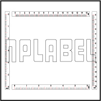 140371-74 Measuring Scale 0-150mm / 0-6 inch